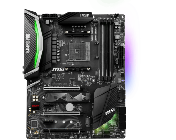 MSI X470 Gaming Pro Carbon Review