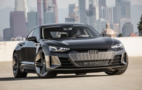 Audi e-tron GT Concept is a drop-dead gorgeous 4-door EV