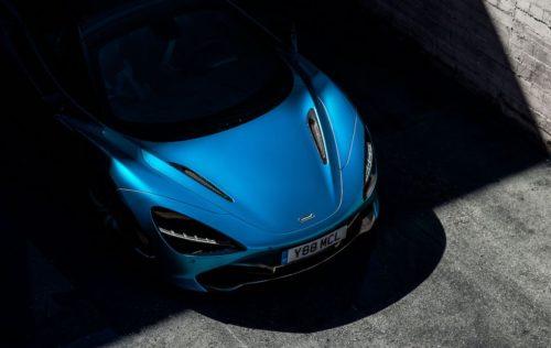 McLaren 720S Spider reveal teaser promises convertible fun