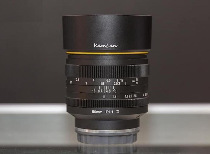 Kamlan 50mm f/1.1 II Mirrorless Lens Announced