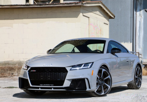 2018 Audi TT RS Review: The Best Luxury Sports Car for the Money