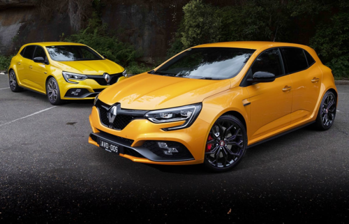 2018 Renault Megane RS280 Sport EDC Auto v Cup Manual comparison