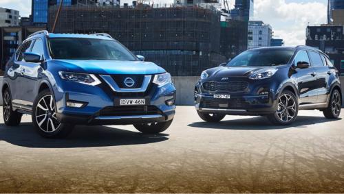 2018 Kia Sportage v Nissan X-Trail Comparison