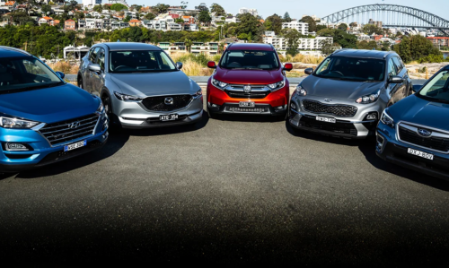 2018 Medium SUV Mega Test Review : Honda CR-V, Hyundai Tucson, Kia Sportage, Mazda CX-5, Subaru Forester