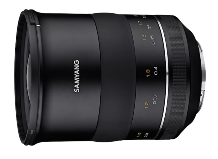Samyang XP 35mm f/1.2 Lens for Canon Announced