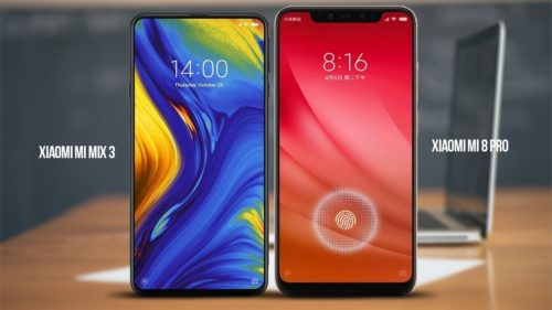 Xiaomi Mi MIX 3 ($599.99) Vs Xiaomi Mi 8 Pro ($629.99) – A Clash of Xiaomi's 2018 flagship