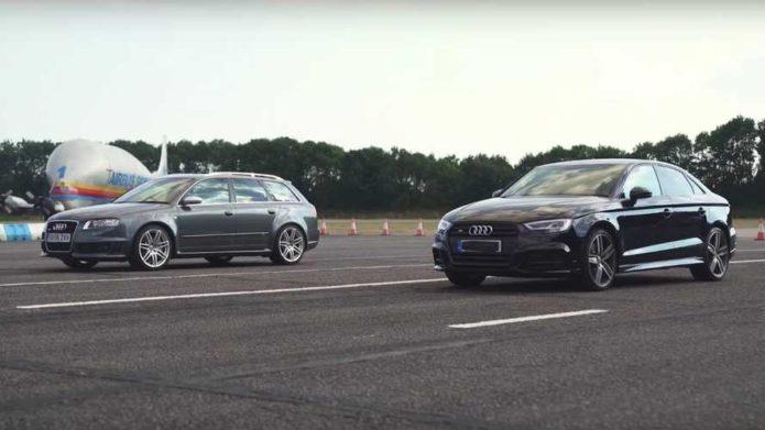 AUDI S3 V AUDI RS4 DRAG RACE - VIDEO