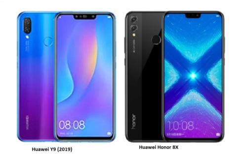 Honor 8X vs Huawei Y9 2019 Mid-Range Comparo: In-Depth