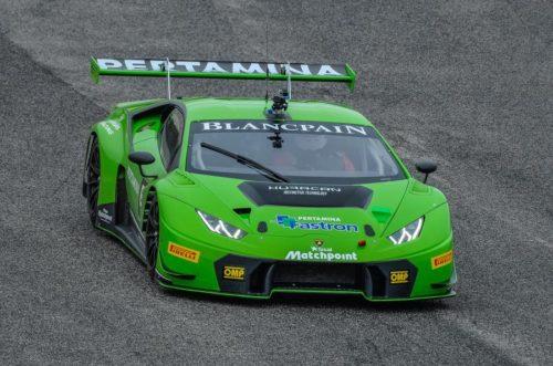 Lamborghini transforms the Urus SUV into a dual-purpose race car