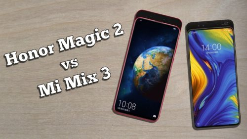 Honor Magic 2 vs Xiaomi Mi Mix 3: Slider phones showdown