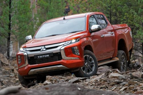 Mitsubishi Triton sexier and safer for 2019