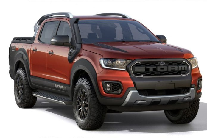 Ford Ranger Storm concept unveiled in Brazil