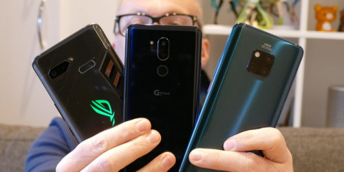 Open wide: LG G7 ThinQ vs. Huawei Mate 20 Pro vs. Asus ROG Phone