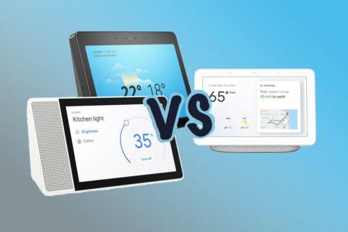 Echo Show vs Lenovo Smart Display vs Google Home Hub: AI on display