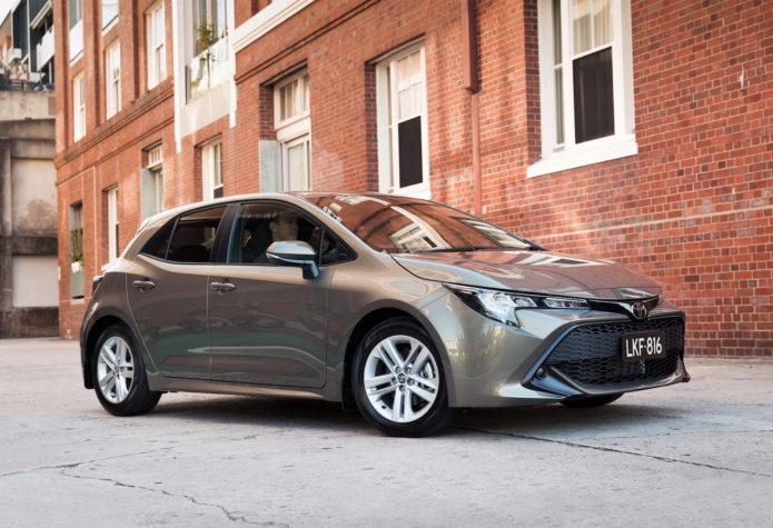 2019 Toyota Corolla Range Review Corolla Ascent Sport V Corolla Sx