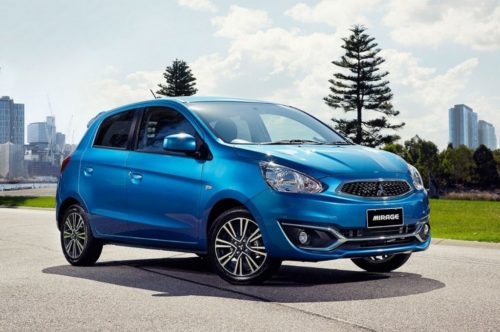 2019 Mitsubishi Mirage Review