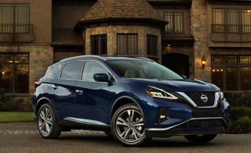 2019 Nissan Murano: First Look