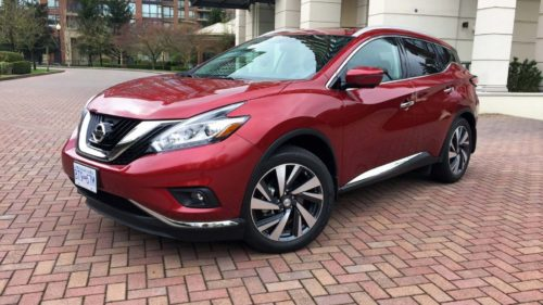 The 2019 Nissan Murano isn't afraid to let you know it's a crossover