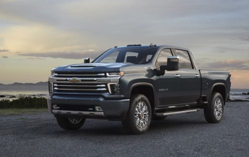 This is the top-of-the-range 2020 Silverado HD High Country