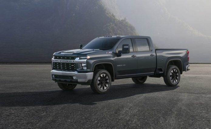 The New 2020 Chevrolet Silverado HD Looks Way Different Than the 1500
