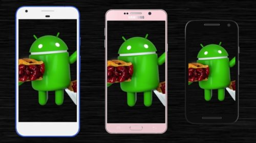 Budget Smartphones Running Android 9 Pie