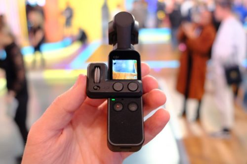 DJI Osmo Pocket Hands-on Review : First Look
