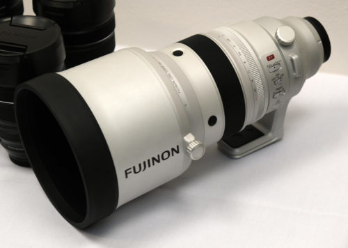 Fujinon XF 200mm f/2 R LM OIS WR + XF 1.4X TC F2 WR Kit