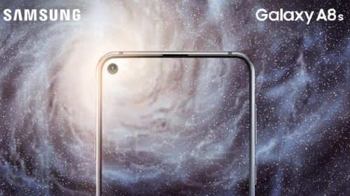The Samsung Galaxy A8s has a clever way of skipping the notch
