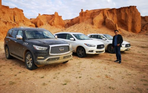 Dinosaurs, Drones and Infiniti SUVs: A grand Gobi Desert adventure