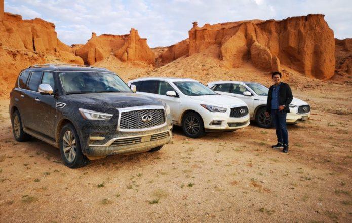 Dinosaurs, Drones and Infiniti SUVs: A grand Gobi Desert adventure