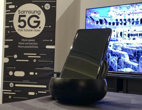 Samsung 5G Android demo is fast but finicky