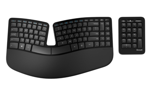 Microsoft Sculpt Ergonomic Keyboard review: Smart design, steep learning curve