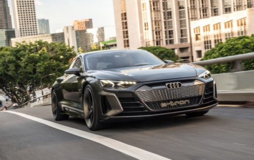 Audi e-tron GT Concept First Drive: Welcome to the future