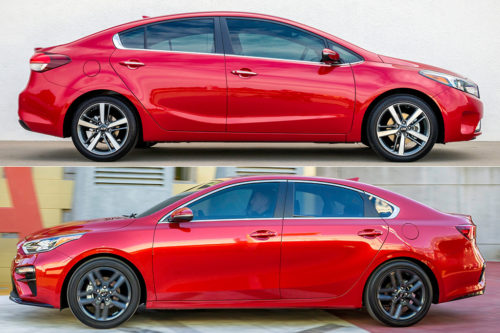 2018 vs. 2019 Kia Forte: What's the Difference?