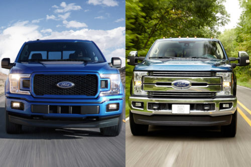 2018 Ford F-150 vs. 2018 Ford F-250: What's the Difference?