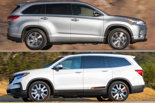 2019 Toyota Highlander vs. 2019 Honda Pilot: Which Is Better?