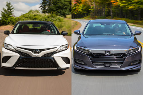 2019 Toyota Camry vs. 2019 Honda Accord: Which Is Better?