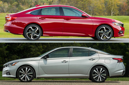 2019 Honda Accord vs. 2019 Nissan Altima: Which Is Better?
