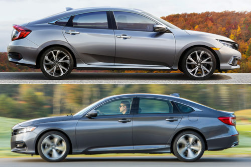2019 Honda Civic vs. 2019 Honda Accord: What's the Difference?