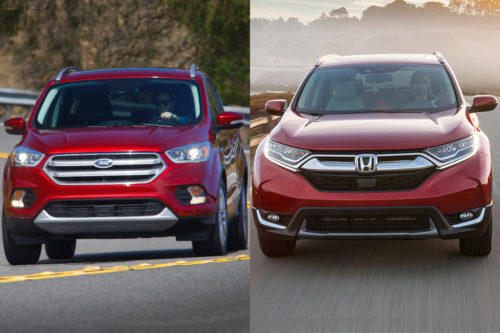 2019 Ford Escape vs. 2019 Honda CR-V: Which Is Better?