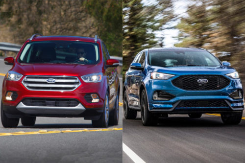 2019 Ford Escape vs. 2019 Ford Edge: What's the Difference?