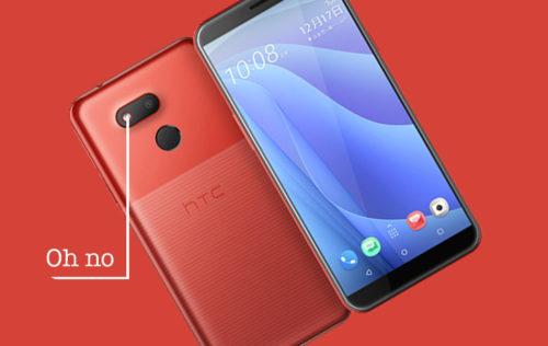 New HTC Desire 12s is not OCD-friendly