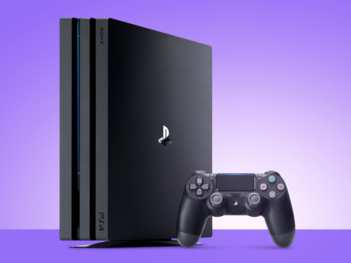 So you just got a… PlayStation 4 Pro