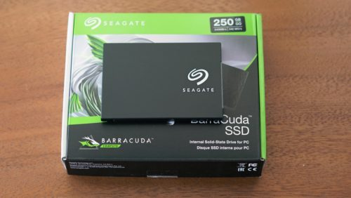 Seagate BarraCuda 250GB SSD Hands-on Review