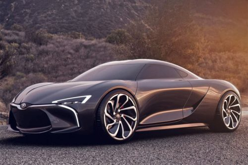 Toyota still on track for third sports car