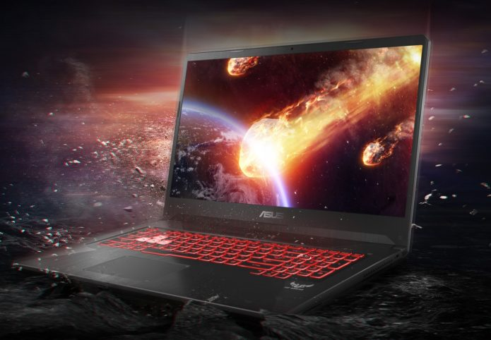ASUS TUF FX705 review – slim overheating giant