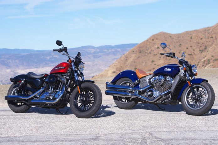 2019 Harley-Davidson Forty-Eight Special vs. 2019 Indian Scout - Comparison Review