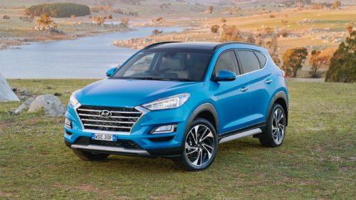 2019 Hyundai Tucson Elite petrol AWD v Jeep Compass Limited petrol Comparison