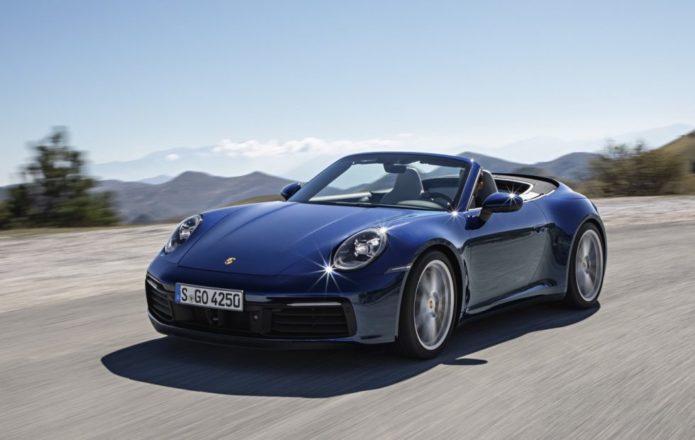 2020 Porsche 911 Cabriolet is faster all round