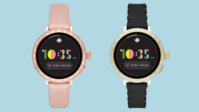 Kate Spade Scallop smartwatch 2 first look: Wear watch gets Google Pay and more